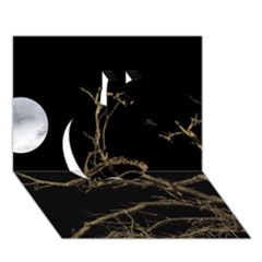 Nature Dark Scene Apple 3d Greeting Card (7x5) by dflcprints