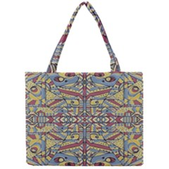 Multicolor Abstract Mini Tote Bag by dflcprintsclothing