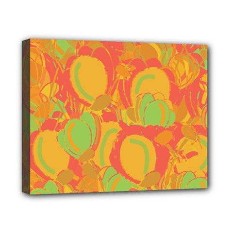 Orange Garden Canvas 10  X 8  by Valentinaart
