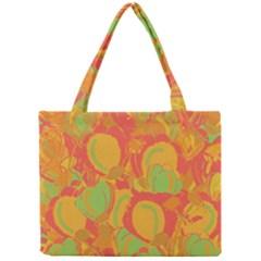 Orange Garden Mini Tote Bag by Valentinaart