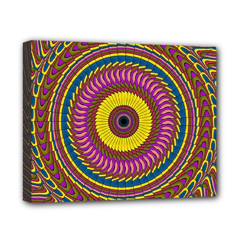 Ornament Mandala Canvas 10  X 8  by designworld65