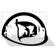 Pirate Party Of Iceland Logo #1 Dad 3d Greeting Card (8x4)
