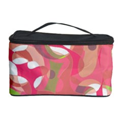 Pink Smoothie  Cosmetic Storage Case by Valentinaart