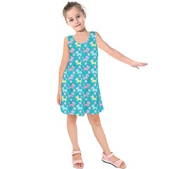 Fun Cats  Kids  Sleeveless Dress by olgart