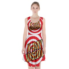 Comic Book X Ray Vision Red Racerback Midi Dress by ComicBookPOP