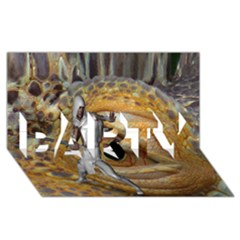 Dragon Slayer Party 3d Greeting Card (8x4) by icarusismartdesigns