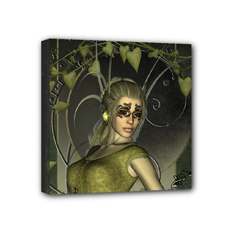 Wonderful Fairy Mini Canvas 4  X 4  by FantasyWorld7