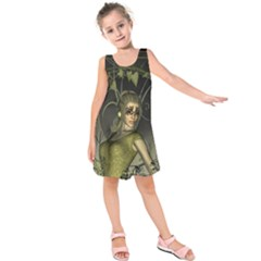 Wonderful Fairy Kids  Sleeveless Dress
