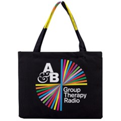 Above & Beyond  Group Therapy Radio Mini Tote Bag by Onesevenart