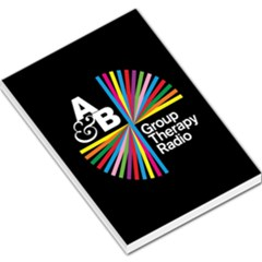 Above & Beyond  Group Therapy Radio Large Memo Pads by Onesevenart