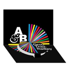 Above & Beyond  Group Therapy Radio Circle Bottom 3d Greeting Card (7x5) by Onesevenart