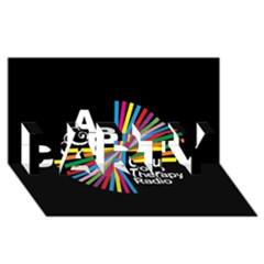 Above & Beyond  Group Therapy Radio Party 3d Greeting Card (8x4) by Onesevenart