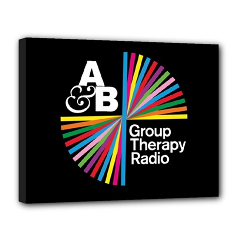 Above & Beyond  Group Therapy Radio Canvas 14  X 11  by Onesevenart