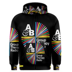 Above & Beyond  Group Therapy Radio Men s Zipper Hoodie by Onesevenart