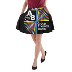 Above & Beyond  Group Therapy Radio A Line Pocket Skirt by Onesevenart