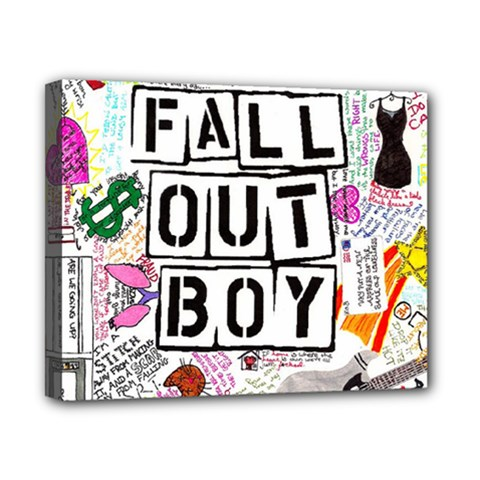 Fall Out Boy Lyric Art Canvas 10  X 8  by Onesevenart