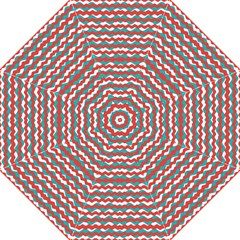 Geometric Waves Hook Handle Umbrellas (medium) by dflcprints