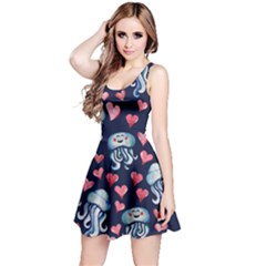 Jellyfish Love Reversible Sleeveless Dress by BubbSnugg