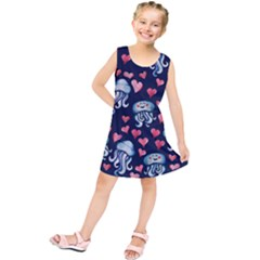 Jellyfish Love Kids  Tunic Dress