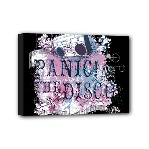Panic At The Disco Art Mini Canvas 7  X 5  by Onesevenart