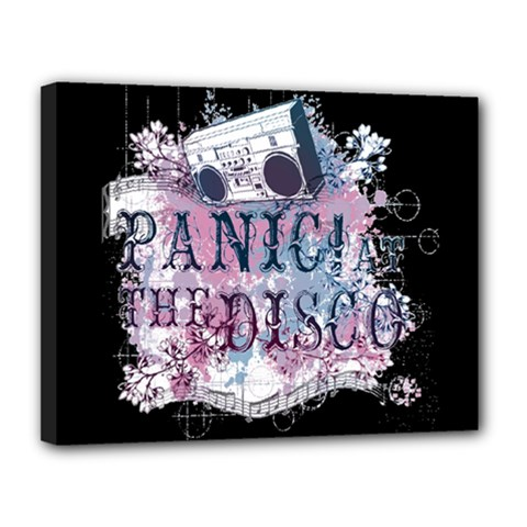 Panic At The Disco Art Canvas 14  X 11  by Onesevenart