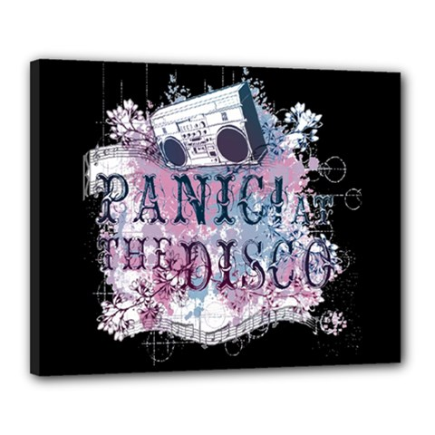 Panic At The Disco Art Canvas 20  X 16  by Onesevenart
