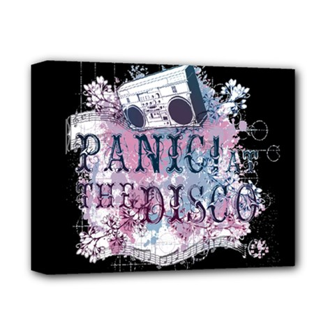 Panic At The Disco Art Deluxe Canvas 14  X 11  by Onesevenart