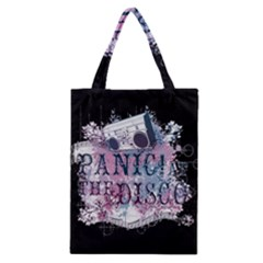 Panic At The Disco Art Classic Tote Bag by Onesevenart