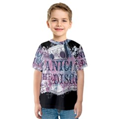 Panic At The Disco Art Kids  Sport Mesh Tee by Onesevenart