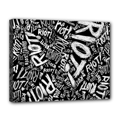 Panic At The Disco Lyric Quotes Retina Ready Canvas 14  X 11  by Onesevenart