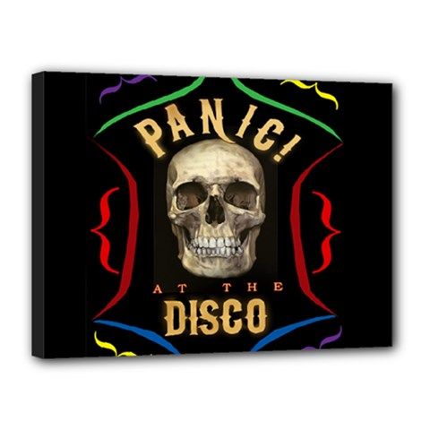 Panic At The Disco Poster Canvas 16  X 12  by Onesevenart