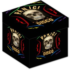 Panic At The Disco Poster Storage Stool 12   by Onesevenart