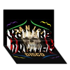 Panic At The Disco Poster You Are Invited 3d Greeting Card (7x5) by Onesevenart