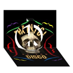 Panic At The Disco Poster Peace Sign 3d Greeting Card (7x5) by Onesevenart
