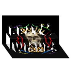 Panic At The Disco Poster Best Wish 3d Greeting Card (8x4) by Onesevenart