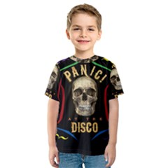 Panic At The Disco Poster Kids  Sport Mesh Tee by Onesevenart