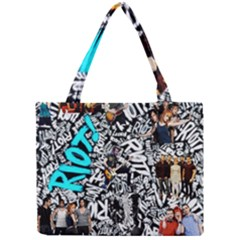 Panic! At The Disco College Mini Tote Bag by Onesevenart