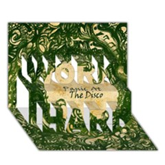 Panic At The Disco Work Hard 3d Greeting Card (7x5) by Onesevenart