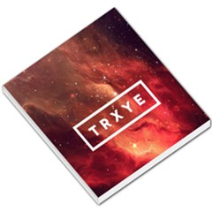 Trxye Galaxy Nebula Small Memo Pads by Onesevenart