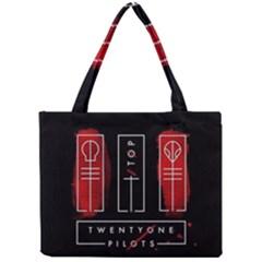 Twenty One Pilots Mini Tote Bag by Onesevenart