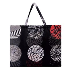 Twenty One Pilots Stressed Out Zipper Large Tote Bag by Onesevenart