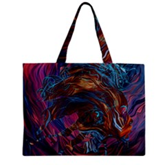 Voodoo Child Jimi Hendrix Zipper Mini Tote Bag by Onesevenart