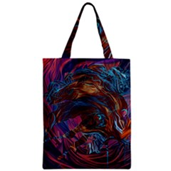 Voodoo Child Jimi Hendrix Zipper Classic Tote Bag by Onesevenart