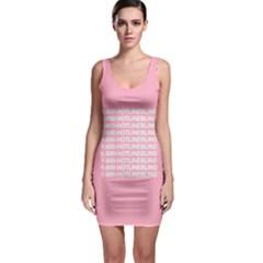 1 800 Hotline Bling Sleeveless Bodycon Dress by Onesevenart