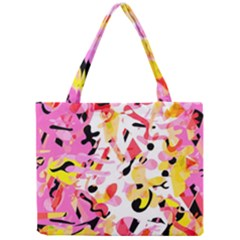 Pink Pother Mini Tote Bag by Valentinaart