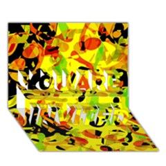 Fire You Are Invited 3d Greeting Card (7x5)
