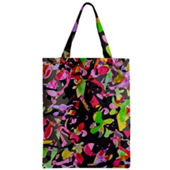 Playful Pother Zipper Classic Tote Bag by Valentinaart