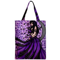 Violet Moon Belly Dancer Classic Tote Bag by BubbSnugg