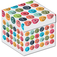 Alphabet Storage Stool 12   by AnjaniArt