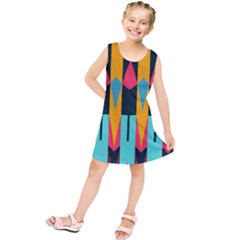 Shapes And Stripes                Kid s Tunic Dress